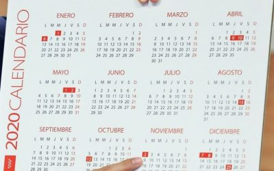Calendario laboral 2.020 Comunidad Madrid