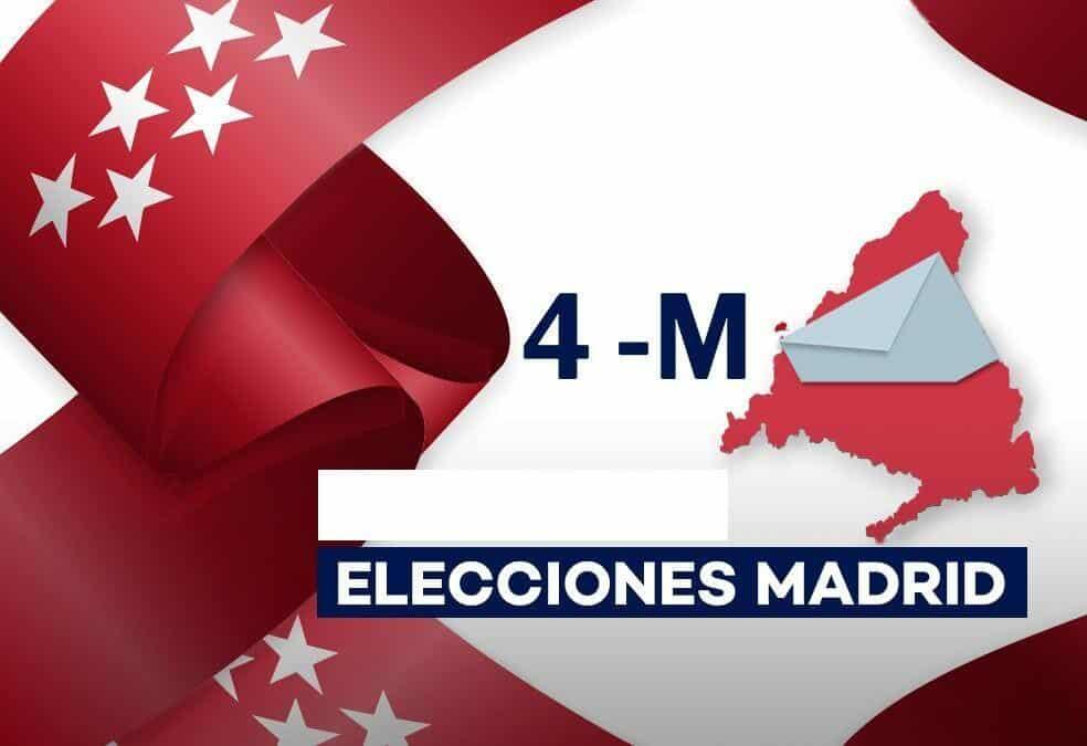 Elecciones en Madrid en día laborable